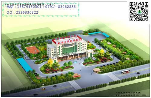 新余市高新区管委会景观设计
